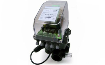 OmniTronic automated filter rinsing valve