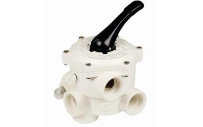 Manual 6-way valves, side valve