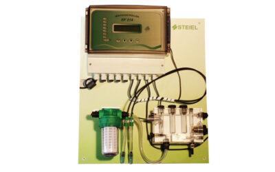 Efka214 fritt pH / klor / redox / temp doseringsmaskin