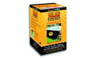 Poolsamlare Solvärmare S 421