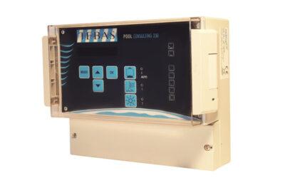 Tebas Pool-Consulting-styrenhet med termostat