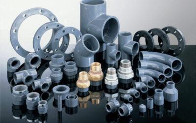 Fittings, valves, PVC pipes
