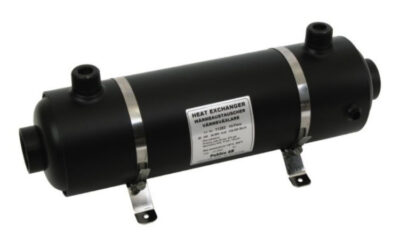 Värmeväxlare av stål AISI 316